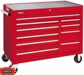 "Proto Tool J455041-10RD 10 Drawer 50"" Red Workstation"