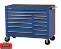 "Proto Tool J455041-12BL 12 Drawer 50"" Blue Workstation"