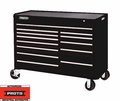 "Proto Tool J455743-13BK 13 Drawer 57"" Black Workstation"