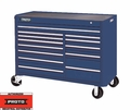 "Proto Tool J455743-13BL 13 Drawer 57"" Blue Workstation"