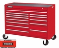 "Proto Tool J455743-13RD 13 Drawer 57"" Red Workstation"