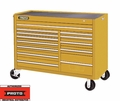 "Proto Tool J455743-13YL 13 Drawer 57"" Yellow Workstation"