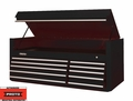 "Proto Tool J456627-10BK 10 Drawer 66"" Black Top Chest"