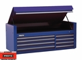"Proto Tool J456627-8BL 8 Drawer 66"" Blue Top Chest"