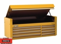 "Proto Tool J456627-8YL 8 Drawer 66"" Yellow Top Chest"