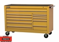 "Proto Tool J456646-11YL 11 Drawer 66"" Yellow Workstation"