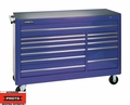 "Proto Tool J456646-12BL 12 Drawer 66"" Blue Workstation"