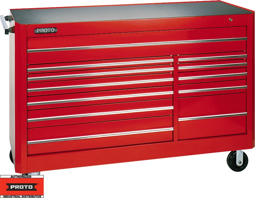 Proto Tool J456646 12rd 12 Drawer 66 Quot Red Workstation