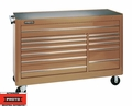 "Proto Tool J456646-12TN 12 Drawer 66"" Tan Workstation"