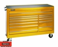 "Proto Tool J456646-12YL 12 Drawer 66"" Yellow Workstation"