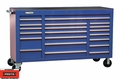 "Proto Tool J456741-20BL 20 Drawer 67"" Blue Workstation"