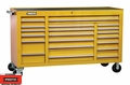 "Proto Tool J456741-20YE 20 Drawer 67"" Yellow Workstation"