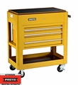 Proto Tool J459000-3YL 3 Drawer Heavy Duty Yellow Utility Cart