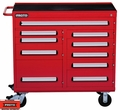 "Proto Tool J464542-10RD 10 Drawer 460 Series 45"" Red Workstation"