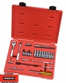 "Proto Tool J47120 1/4"" Drive 37 Piece Combination Socket Set 6 Point"