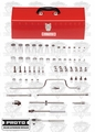Proto Tool J52140 58 Piece Combination Socket Set