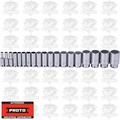 "Proto Tool J54105-TT 19 Piece Tether-Ready Deep Socket Set 1/2"" Drive"