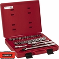 "Proto Tool J54126 1/2"" Drive 30 Piece Socket Set 12 Point"