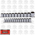 "Proto Tool J54211-TT 24 Piece Tether Ready Socket Set 1/2"" Drive"