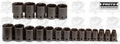 Proto Tool J74106 19 Piece Impact Socket Set - 6 Point