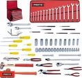 Proto Tool J98312 92 Piece Heavy Equipment Set + Top Chest J442719-8RD