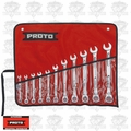 Proto Tool JSCV-11SA 11 Piece Full Polish Ratcheting Wrench Set