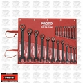 "Proto Tool JSCV-20S 20pc 7/32"" - 1-1/2"" Reversible Combo Ratcheting Wrench Set"