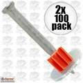 "Ramset 1512SD 2pk Boxes of 100 1-1/2"" Powder Fastening Pins with Washer"