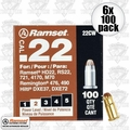 "Ramset 22CW 6x Boxes of 100 #2 ""Brown"" .22 cal Single Shot Loads"