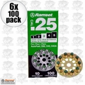 Ramset 3D60 #3 Green 25cal Round Disc Loads