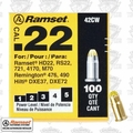 "Ramset 42CW Box of 100 #4 ""Yellow"" 22 cal Single Shot Loads"