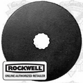 Rockwell RW9119 SoniCrafter HSS Circle Blade