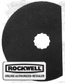 Rockwell RW9120 SoniCrafter Semi-Circle Saw Blade
