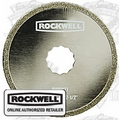 Rockwell RW9127 SoniCrafter Diamond Coated Saw Blade