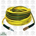 "Rolair 14100NOODLE 1/4"" x 100' Noodle Air Hose with Coupler and Plug"