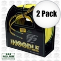 "Rolair 14100NOODLE 2pk 1/4"" x 100' Noodle Air Hose with Coupler and Plug"