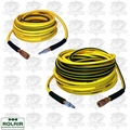 Rolair 14100NOODLE 100' and 50' Noodle 1/4' Air Hose with Couplers and Plugs