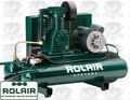 Rolair 5715K17 1.5 HP Single Stage Portable Air Compressor Dual-Control