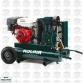 Rolair 7722HK28 8HP 9G 2 Stage Portable Gas Powered Air Compressor Open Box
