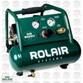 Rolair AB5 1/2 HP Air Buddy Super Quiet Oil-Less Air Compressor OB