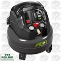 Rolair AER6 1.5HP 6-Gallon Oil-Free Pancake Air Compressor