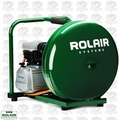 Rolair D2002HPV5 2HP, 4.5 Gal Single Stage Air Compressor OB