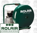 Rolair D2002HPV5 2HP, 4.5 Gal Single Stage Compressor