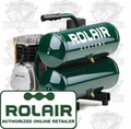 Rolair D2002HSSV5 Single Stage Air Compressor
