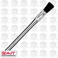 Sait 00501 Acid Brush Metal Handle Flux/Hobby/Pro