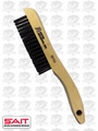 Sait 05753 Shoe Handle Wire Metal Brush