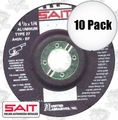 Sait 20062 10pk Non-Ferrous Metal Cutting Grind Wheel