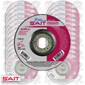 "Sait 20063 25pk 4-1/2"" x 7/8"" x 1/4"" Metal Cutting Grind Wheel"