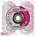 "Sait 20063 10pk 4-1/2"" x 7/8"" x 1/4"" Metal Cutting Grind Wheel"