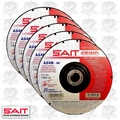 "Sait 20081 5pk 7"" x 7/8"" x 1/4"" Metal Cutting Grind Wheel"